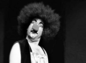 Porträtt av en clown